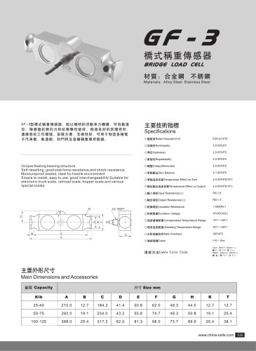 GF-3 load cell