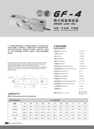 GF-4 load cell