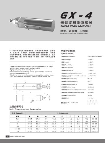 GX-4 load cell