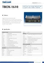 TAICENN/Box computer/TBOX-1610
