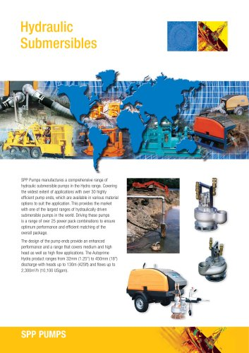 Hydraulic Submersibles