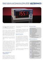 MS40 - Digital Indicator and Temperature Meter