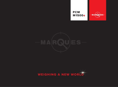 PCM M1500e Weighbridge