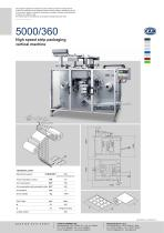 5000/360 | High speed strip packaging vertical machine