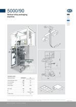 5000/90 vertical strip packing machine