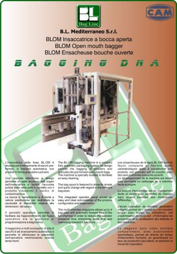 Automatic open mouth bagger - BLOM