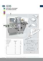 G35 automatic overwrapper for multiple products