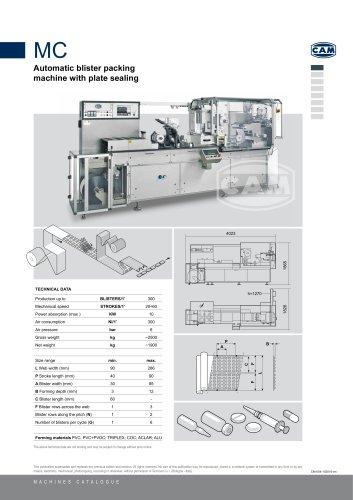 MC Automatic Blister Packing Machine
