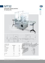 MT32 automatic testing machine for spray cans