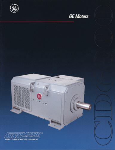 CD6000 Direct Current Motors, 250-4500 HP