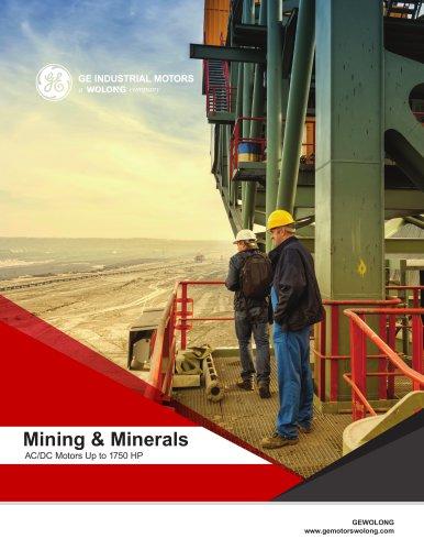 Mining and Minerals - Motors and Generators