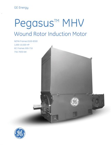 Pegasus MHV - Wound Rotor Induction Motor