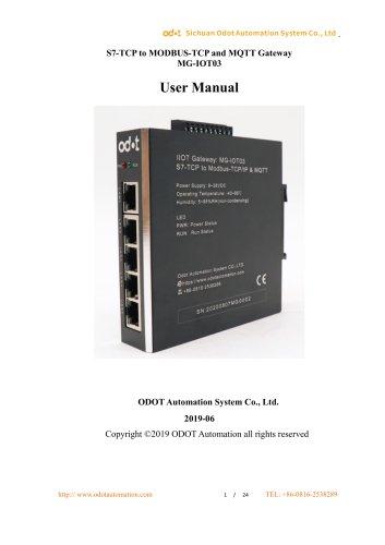 MG-IOT03 User Manual_V1