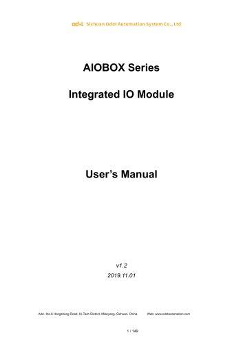 ODOT AIOBOX - Integrated IO module
