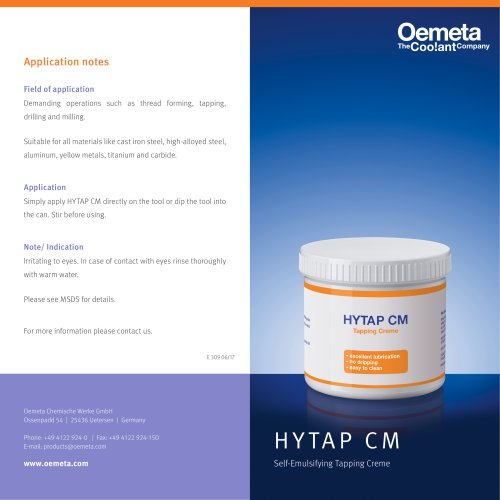 HYTAP CM Brochure en