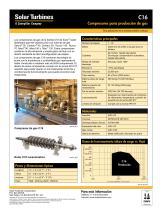 C16 Compresores para producción de gas