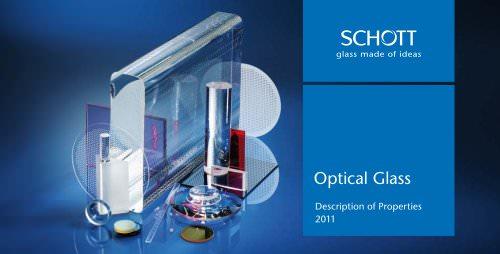 Optical Glass 2011 - Catalogue