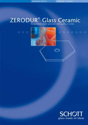 ZERODUR® Catalogue