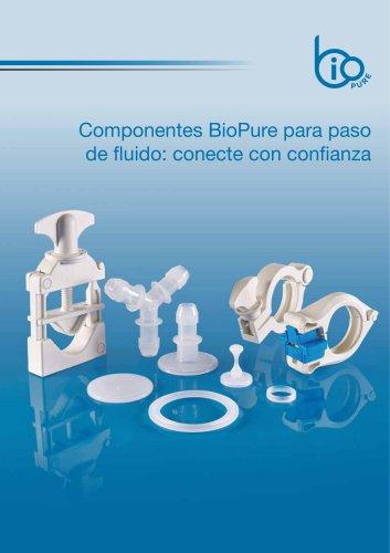 Componentes BioPure para paso de fluido: conecte con confianza