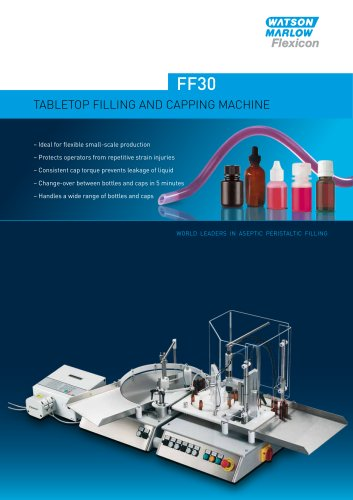 Flexicon FF30 bottle handling system