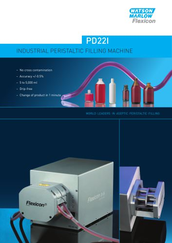 Flexicon PD22I industrial filling system - up to 5,000ml