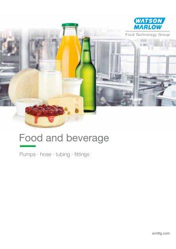 Food and beverage brochure