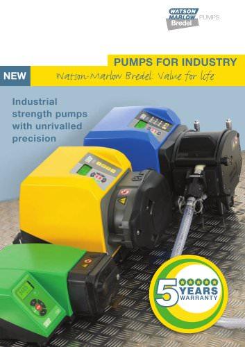Industrial catalogue - peristaltic pumps