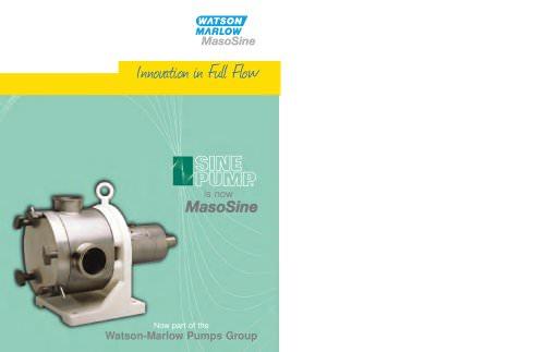 MasoSine overview brochure