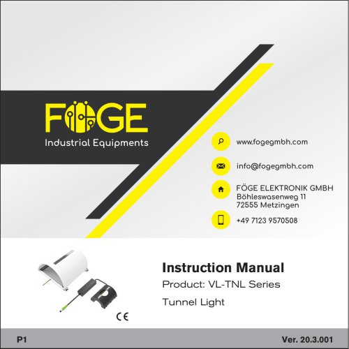 Tunnel Light VL-TNL Series