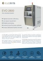 Datenblatt EVO 2800 englisch