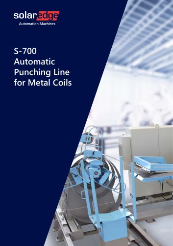 Automatic Punching Line for Metal Coils - K700 series