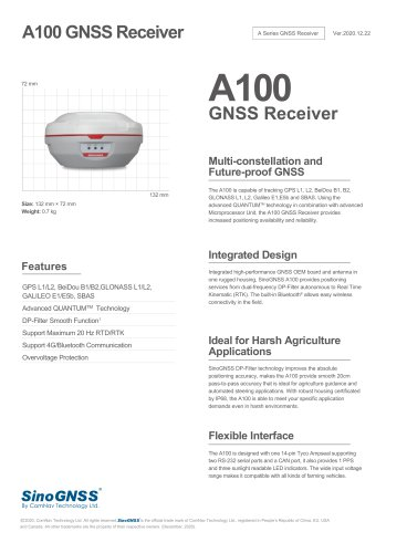A100 GNSS Receiver