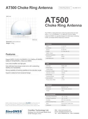 AT500 Chock Ring Antenna