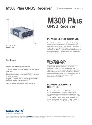 M300 Plus GNSS Receiver