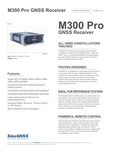 M300 Pro GNSS Receiver