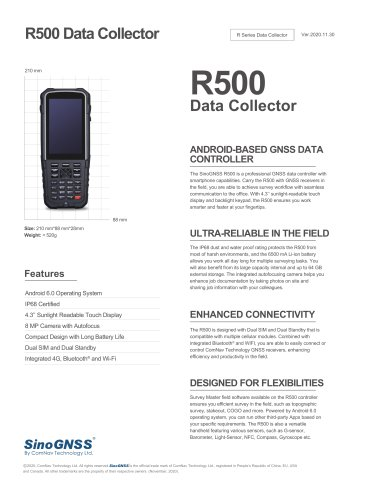 R500 Data Collector