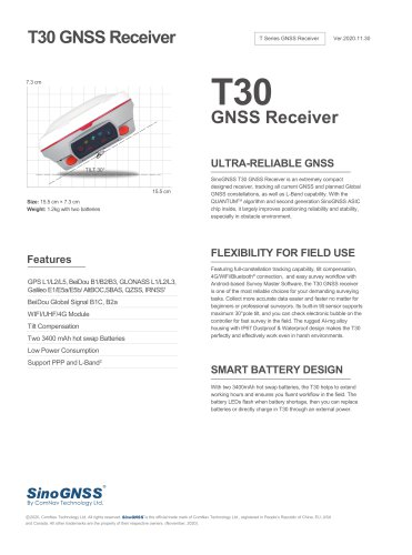 T30 GNSS Receiver