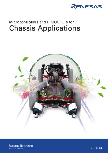 Microcontrollers and P-MOSFETs for Chassis Applications