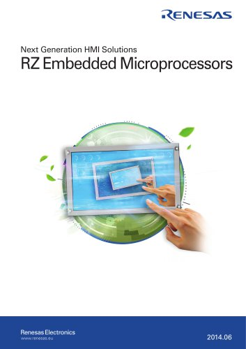 Next Generation HMI Solutions - RZ Embedded Microprocessors