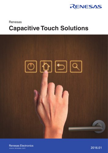 Renesas Capacitive Touch Solutions