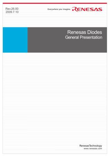 Renesas Diodes General  Presnetation