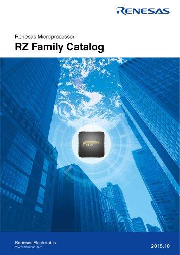 Renesas Microprocessor RZ Family Catalog
