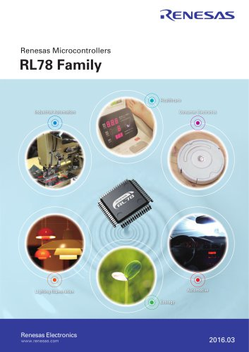Renesas MPUs & MCUs RL78 Family