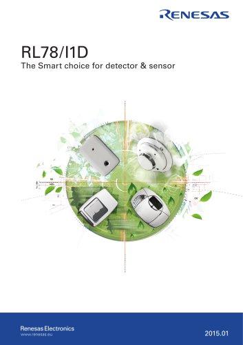 RL78/I1D The Smart choice for detector & sensor
