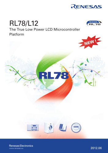 RL78/L12 The True Low Power LCD Microcontroller Platform