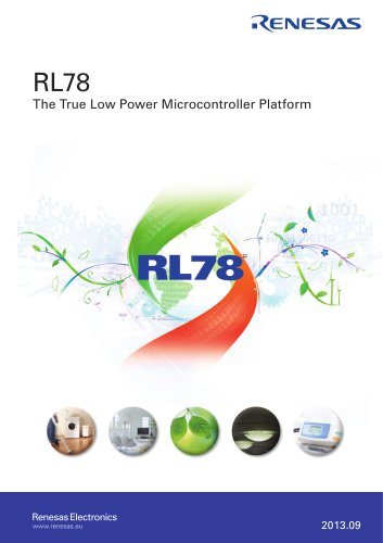 RL78 : The True Low Power Microcontroller Platform