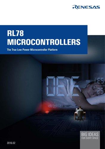 RL78 The True Low Power Microcontroller Platform