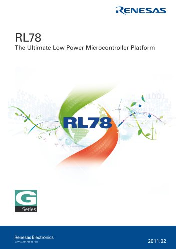 RL78 - The Ultimate Low Power Microcontroller Platform