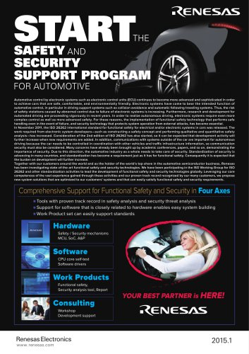 Safety and Security Support Program for Automotive