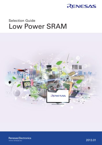 Selection Guide Low Power SRAM